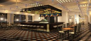 Artist renderings of the new restaurant coming to the St George Ferry Termminal.